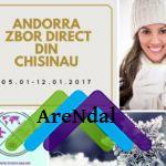 Oferte ski Andorra: 628 euro/pers, zbor pe data de 05.01.2017